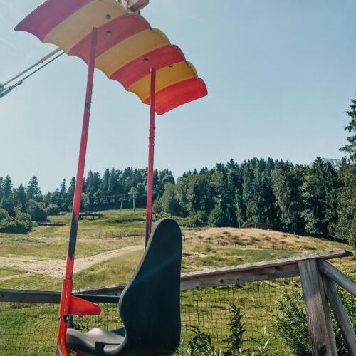 Sky Dive im Freizeitpark Zahmer Kaiser